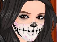 Флеш игра Жуткий макияж Кардашян