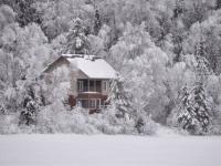 Флеш игра Зимние пейзажи 2: Пазл