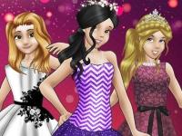 Флеш игра Зимний бал для принцесс