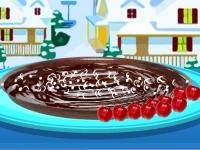 Флеш игра Зимний торт-мусс