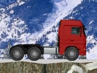Флеш игра Зимний триал на грузовике