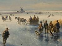 Флеш игра Зимняя галерея: Поиск отличий