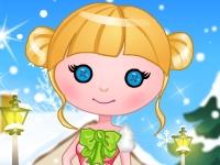 Флеш игра Зимняя куколка-фея