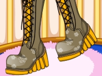 Флеш игра Зимняя обувь