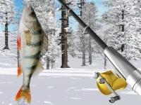 Флеш игра Зимняя рыбалка