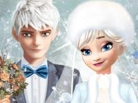 Флеш игра Зимняя свадьба Эльзы