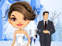 Флеш игра Зимняя свадьба Лори