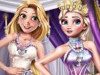 Флеш игра Зимняя вечеринка принцесс