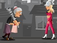 Флеш игра Злая старушка