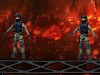 Флеш игра Злой солдат