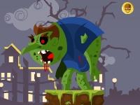 Флеш игра Злой зомби