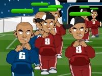 Флеш игра Злые футбольные болельщики