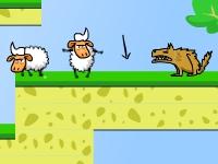 Флеш игра Злые овцы