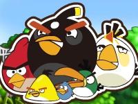 Флеш игра Злые птички: держи равновесие