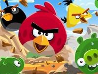 Флеш игра Злые птицы: Пазл