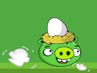 Флеш игра Злые свиньи: Украденные яйца