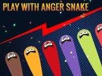 Флеш игра Злые змейки