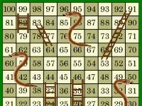 Флеш игра Змеи и лесенки