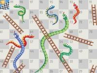 Флеш игра Змеи и лестницы (Лила)