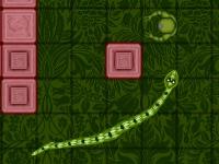Флеш игра Змейка против зомби: Защита сокровищ