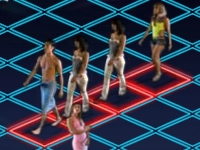Флеш игра Знакомимся с девушками на дискотеке
