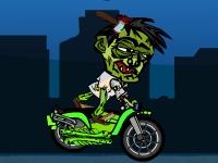 Флеш игра Зомби байкер