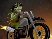 Флеш игра Зомби гонщик