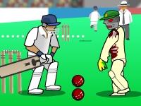 Флеш игра Зомби крикет