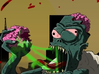 Флеш игра Зомби мозгоед