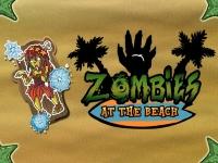 Флеш игра Зомби на пляже