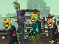 Флеш игра Зомби нон-стоп