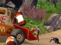 Флеш игра Зомби против машины 2