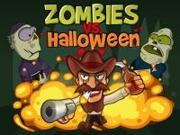 Флеш игра Зомби против шерифа: Хэллоуин