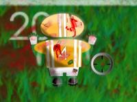 Флеш игра Зомби регби