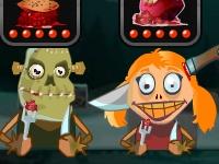 Флеш игра Зомби ресторан 2