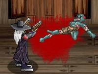 Флеш игра Зомби в салоне