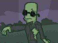 Флеш игра Зомби за забором