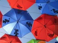 Флеш игра Зонты: Поиск предметов