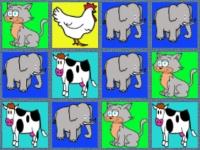 Флеш игра Зоопарк: Три в ряд