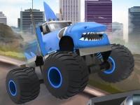 Флеш игра Зверский грузовик-монстр