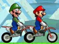 Флеш игра Звездная гонка Марио и Луиджи
