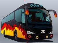 Флеш игра Звездный тур на автобусе