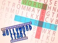 Флеш игра Звезды Голливуда: Поиск слов