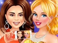 Флеш игра Звезды и принцессы: Ночная вечеринка